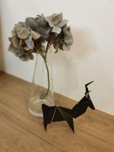 鹿の折り紙